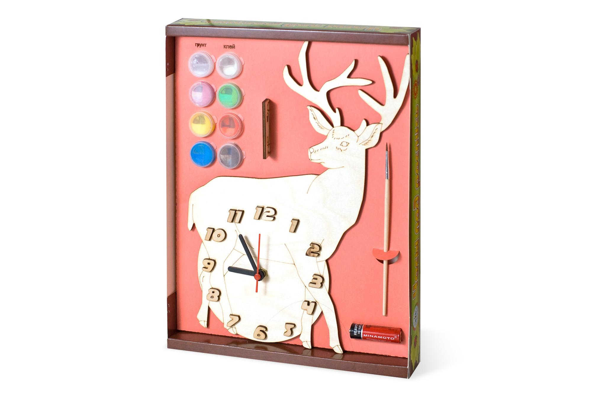 Часы с картиной своими руками 58