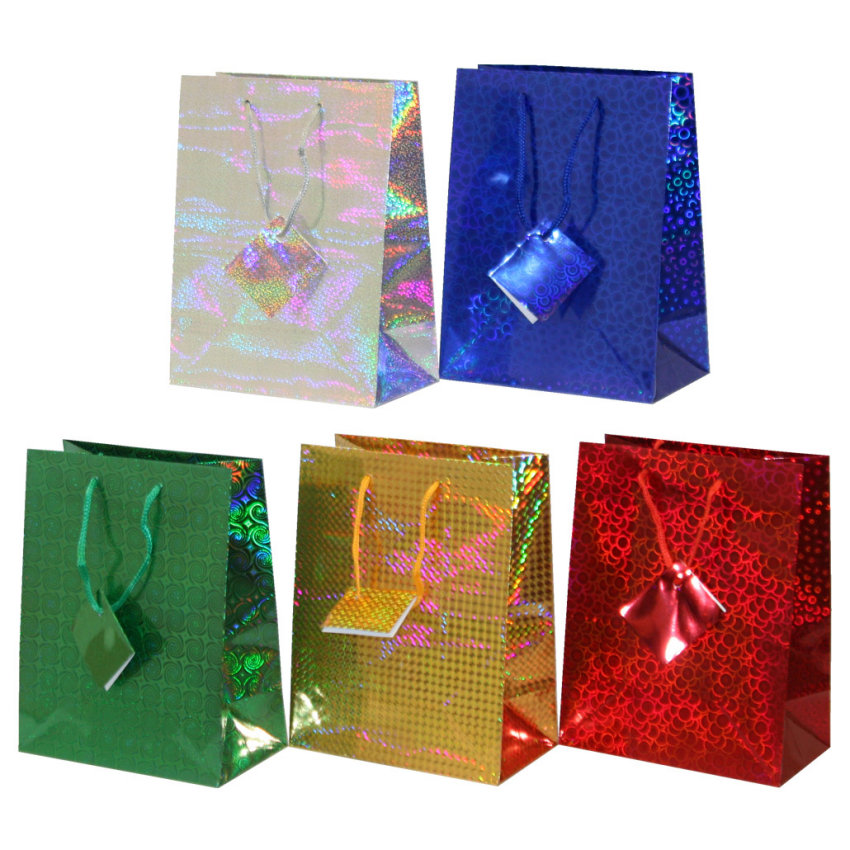 подарочные пакеты голография купить правильно