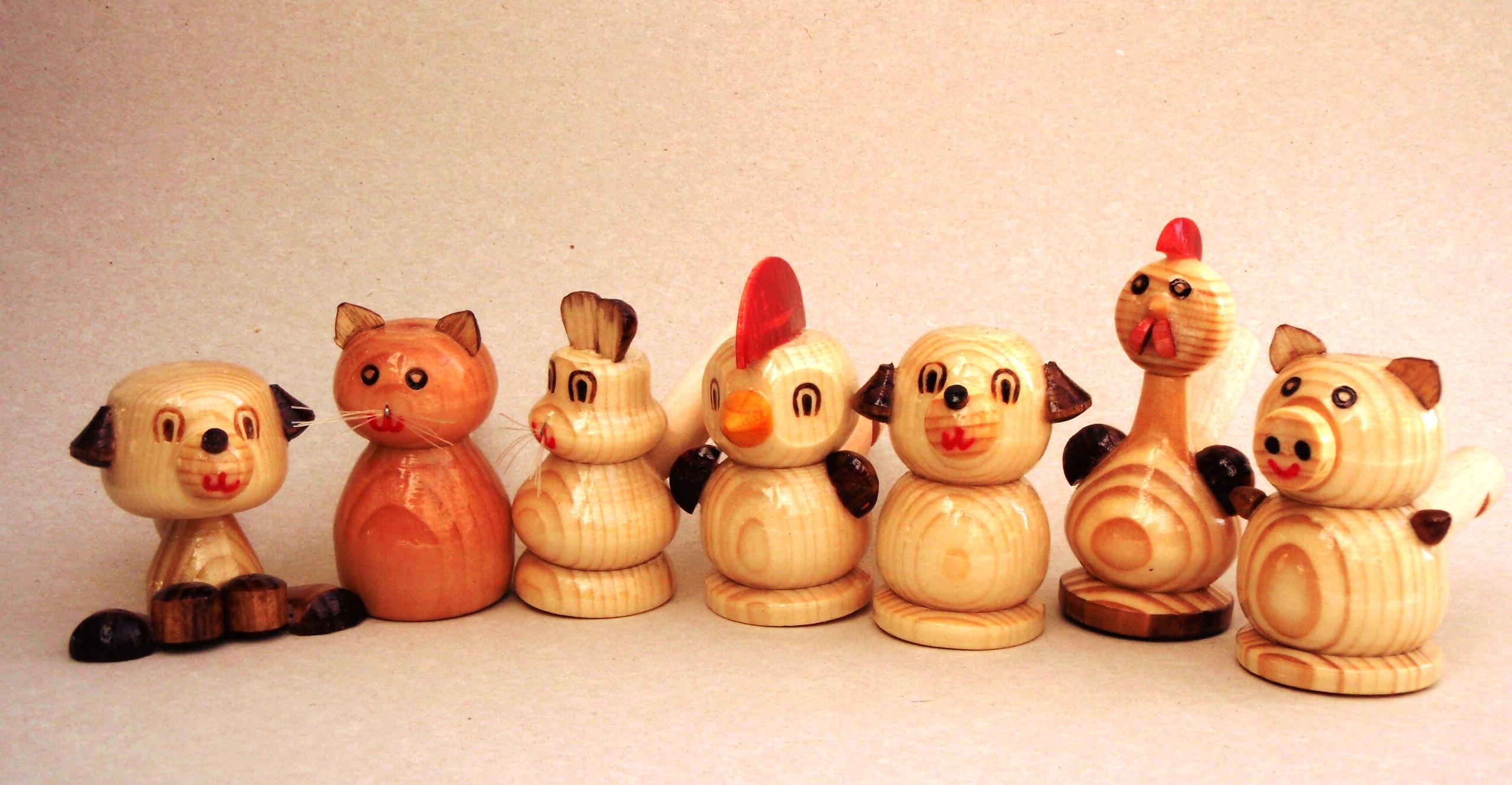 Русская народная игрушка своими руками из дерева