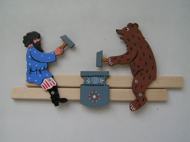Деревянная игрушка подвижная своими руками