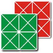 Квадрат Воскобовича 2-х цветный